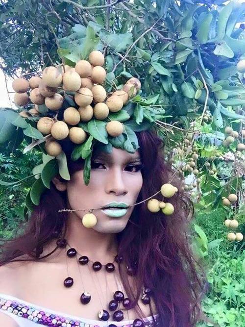 Dân mạng phát sốt với bộ ảnh thời trang độc nhất vô nhị 9