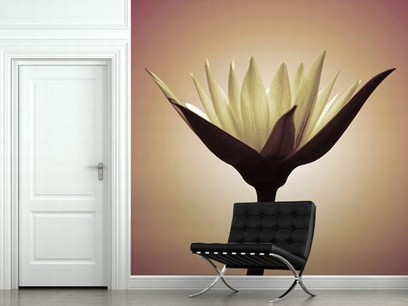 Trang trí nội thất tuyệt đẹp với tranh tường 23