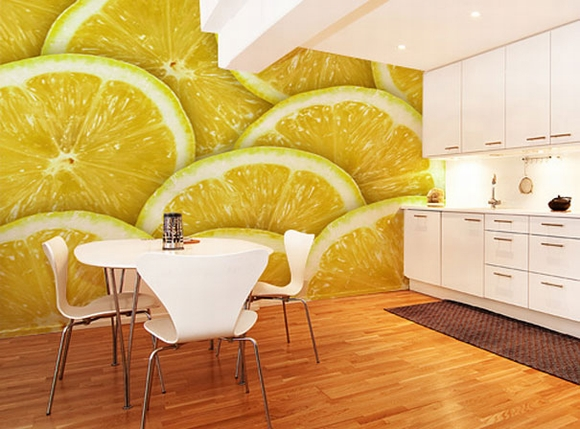 Trang trí nội thất tuyệt đẹp với tranh tường 12