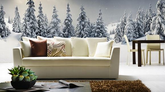 Trang trí nội thất tuyệt đẹp với tranh tường 6