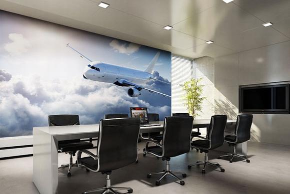 Trang trí nội thất tuyệt đẹp với tranh tường 4