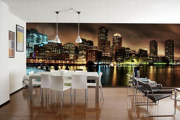 Trang trí nội thất tuyệt đẹp với tranh tường 18