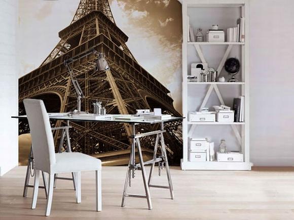 Trang trí nội thất tuyệt đẹp với tranh tường 17