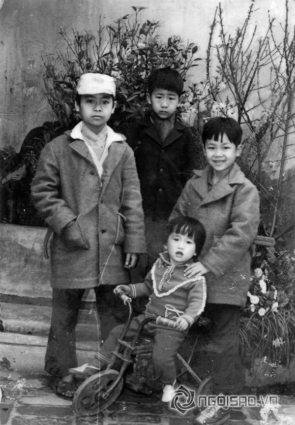 Bằng Cường, ca si Bang Cuong, ảnh ngày bé của Bằng Cường, anh sao Việt khi bé