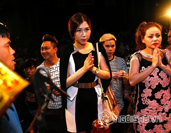 người mẫu Thanh Mai, giỗ Tổ ngành sân khấu, Nam Phong, Anh Quân, Thanh Mai