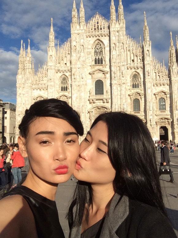 Kha Mỹ Vân,Kha Mỹ Vân tại Milan,siêu mẫu Kha Mỹ Vân,siêu mẫu việt,sao việt