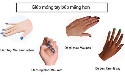 sơn móng tay, làm đẹp, móng tay, kiến thức
