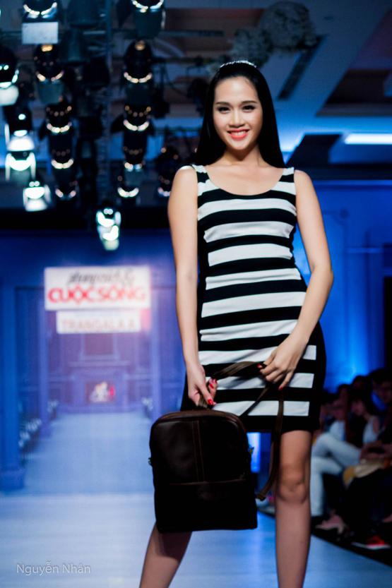 Trương Quỳnh Anh làm mẫu 7
