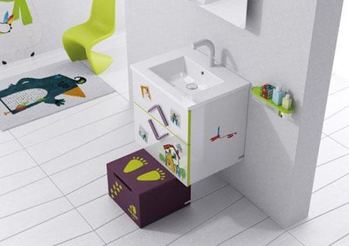 Mẹ khéo tay làm mới không gian phòng tắm - 11