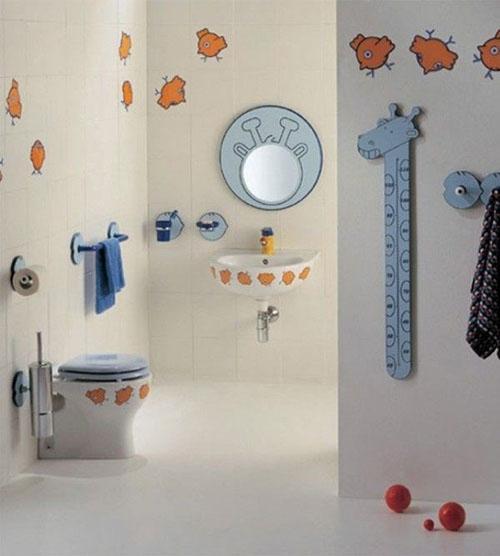 Mẹ khéo tay làm mới không gian phòng tắm - 8
