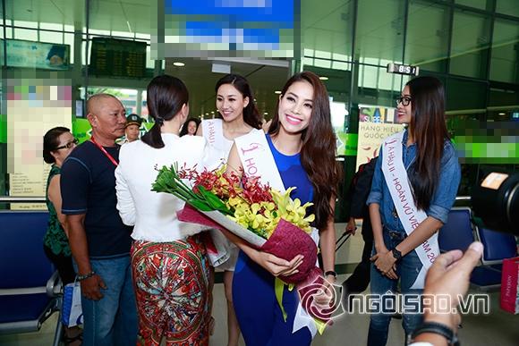 Phạm Hương trở về sau đăng quang 2