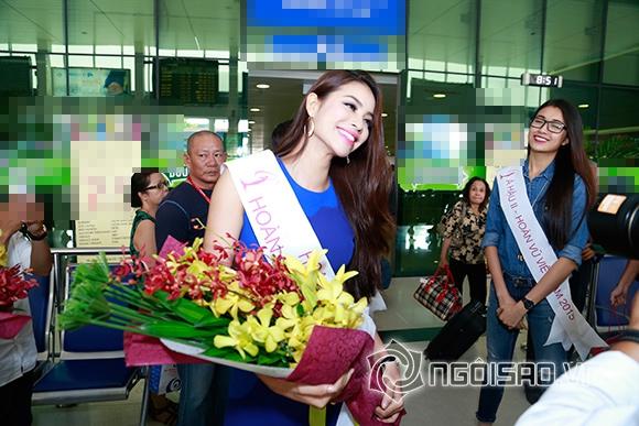 Phạm Hương trở về sau đăng quang 1