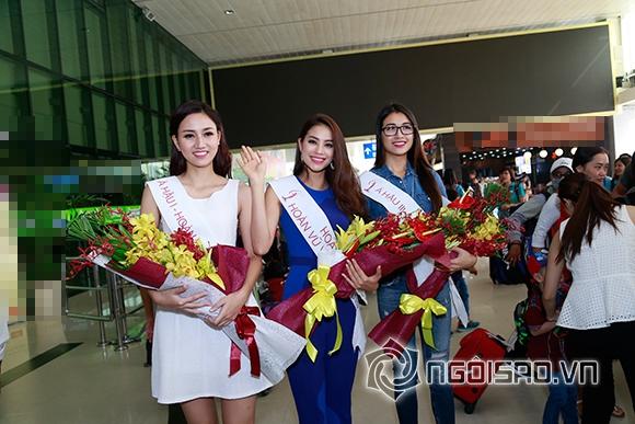 Phạm Hương trở về sau đăng quang 0