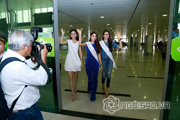 Phạm Hương rạng rỡ trở về sau đăng quang 5