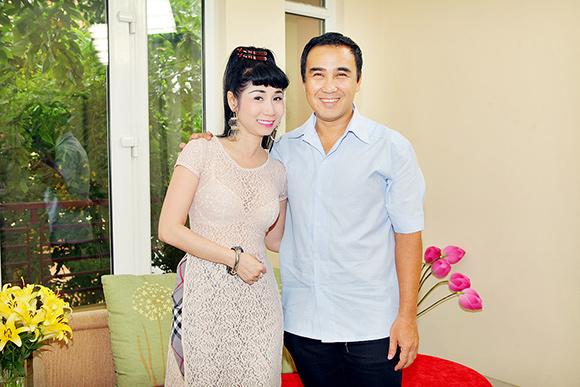 sao Việt, Uyên Thảo, diễn viên Uyên Thảo, Uyên Thảo lái xế hộp tiền tỷ ra trường quay, MC Quyền Linh, Ngẫu hứng cùng sao