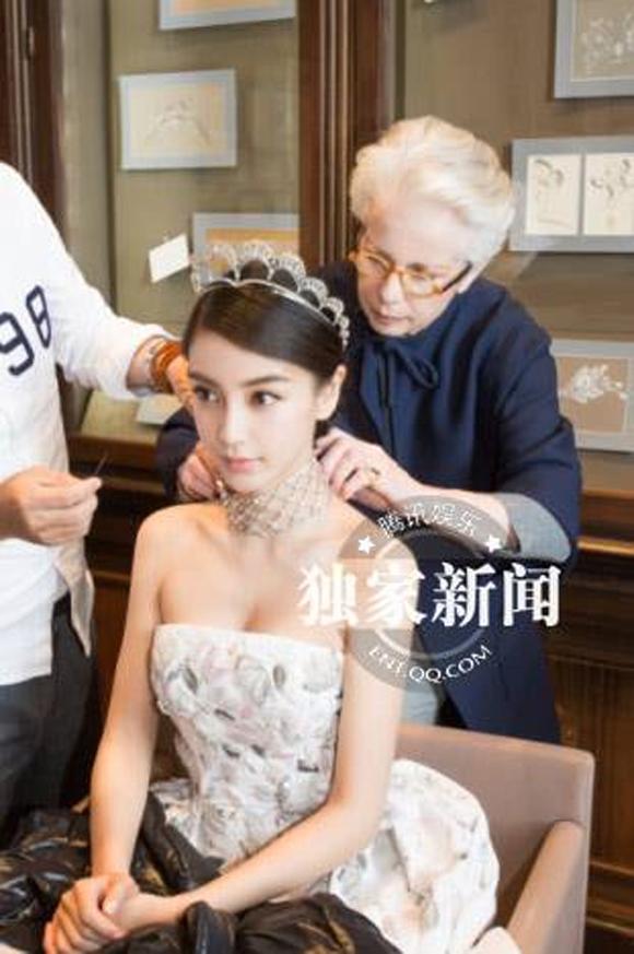 Angela Baby đẹp như công chúa trong 'lễ cưới cổ tích' 4