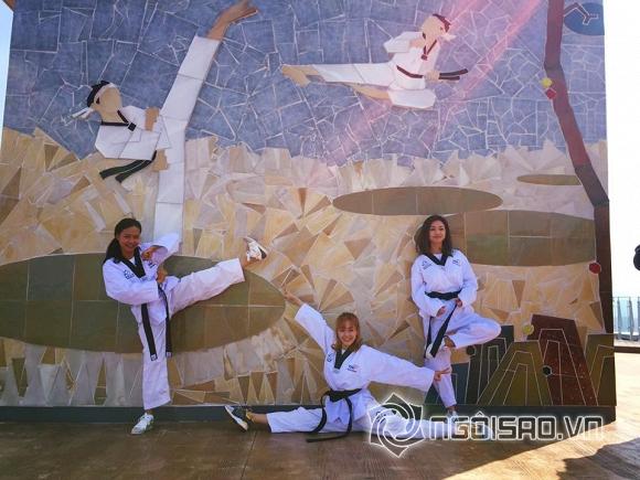 Minh Hằng, Minh Hằng siêu nhắng nhít, Minh Hằng làm võ sĩ Taekwondo, Minh Hằng ở Hàn Quốc, Minh Hằng và Jennifer Phạm, Jennifer Phạm, Hồng Ánh, tin ngôi sao