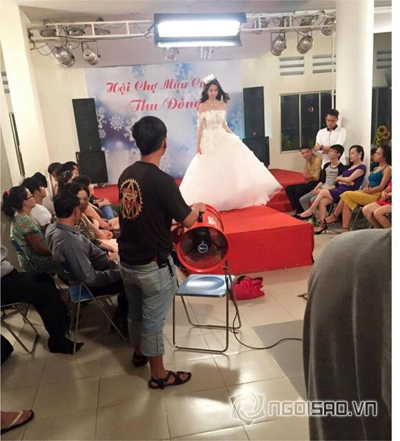 Ngọc Trinh mặc váy cưới  3