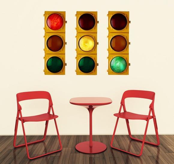 Những ý tưởng thú vị với tường phòng ăn trang trí decal