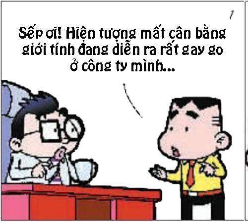 truyện tranh, truyện tranh cười, truyện tranh đừng đùa với sếp, truyện tranh sếp và nhân viên, truyện cười