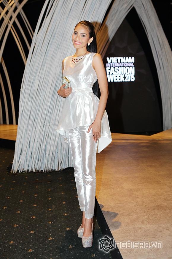 sao Việt, Trương Thị May, Á hậu Trương Thị Mau, Mỹ nhân ăn chay, Trương Thị May đeo trang sức 1,7 tỷ đồng