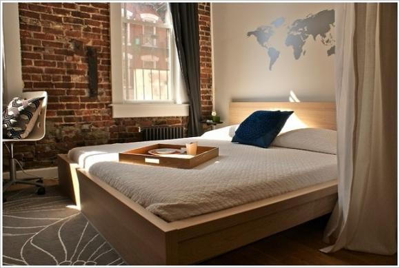 Mẹo hay tạo vẻ đẹp cá tính cho phòng ngủ tối giản