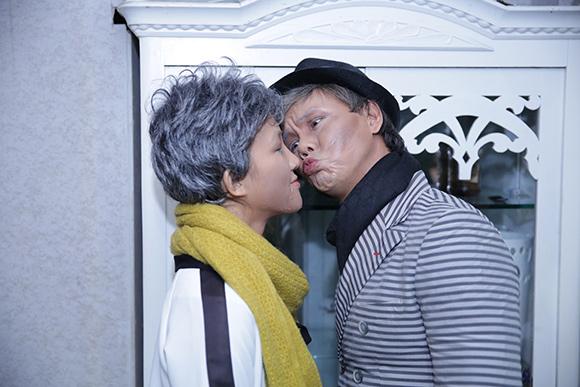 Vợ chồng Phan Đinh Tùng già nua khiến con gái hoảng hốt 7