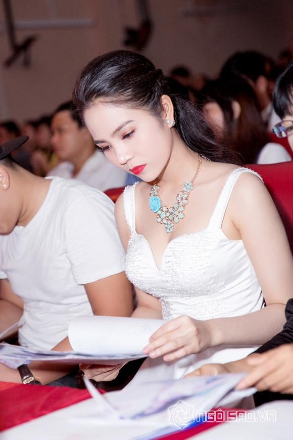 Dương Kim Ánh đẹp hút hồn khi diện đầm trắng tinh khôi làm giám khảo   6