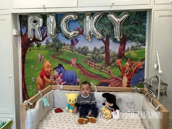 con trai Ngọc Thạch, Ngọc Thạch, siêu mẫu Ngọc Thạch, con trai Ngọc Thạch cực yêu, bé Ricky, vợ chồng Ngọc Thạch, tin ngôi sao, nhóc tỳ, Ngoc Thach
