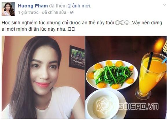 Phạm Hương giữ dáng 0