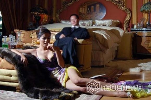 Đại gia và chân dài showbiz Việt  9