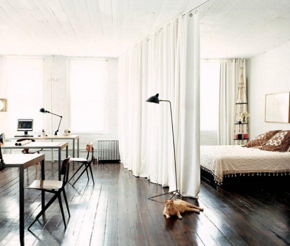 noi khong gian cho nha chat 12 ngoisao.vn Thiết kế nới rộng không gian cho nhà nhỏ chỉ người thông minh mới nghĩ ra