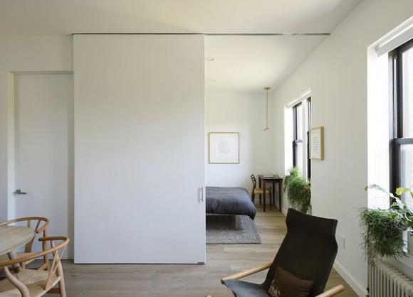 noi khong gian cho nha chat 3 ngoisao.vn Thiết kế nới rộng không gian cho nhà nhỏ chỉ người thông minh mới nghĩ ra