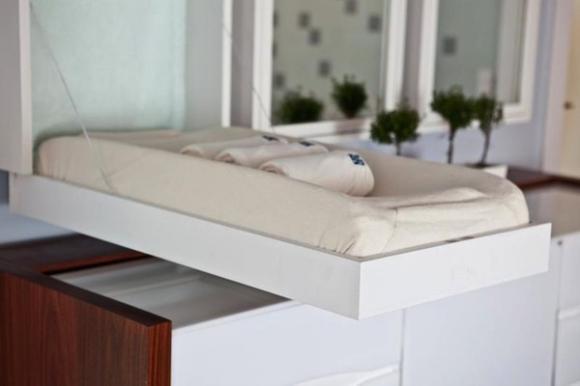 noi khong gian cho nha chat 9 ngoisao.vn Thiết kế nới rộng không gian cho nhà nhỏ chỉ người thông minh mới nghĩ ra