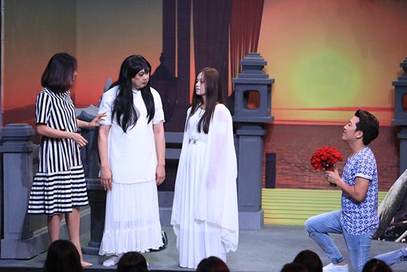 Chồng sắp cưới cầu hôn Vân Trang trên sóng truyền hình 1