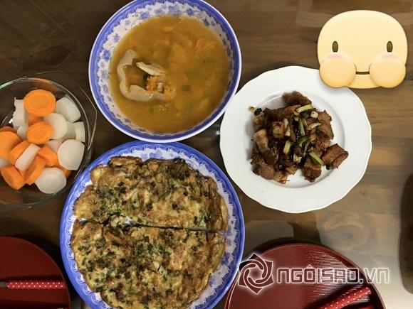 Phan Như Thảo được chồng đại gia nấu cơm 0