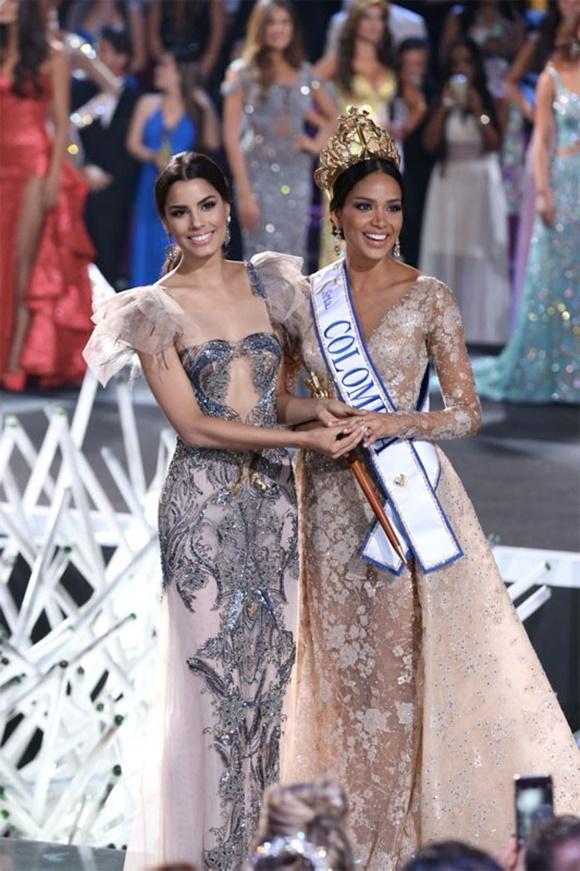 Hoa hậu Colombia 2015, Miss Unvierse, Hoa hậu Colombia, Miss Colombia 2015, Andrea Tovar, Hoa hậu, người đẹp da màu đăng quang Hoa hậu Colombia 2015