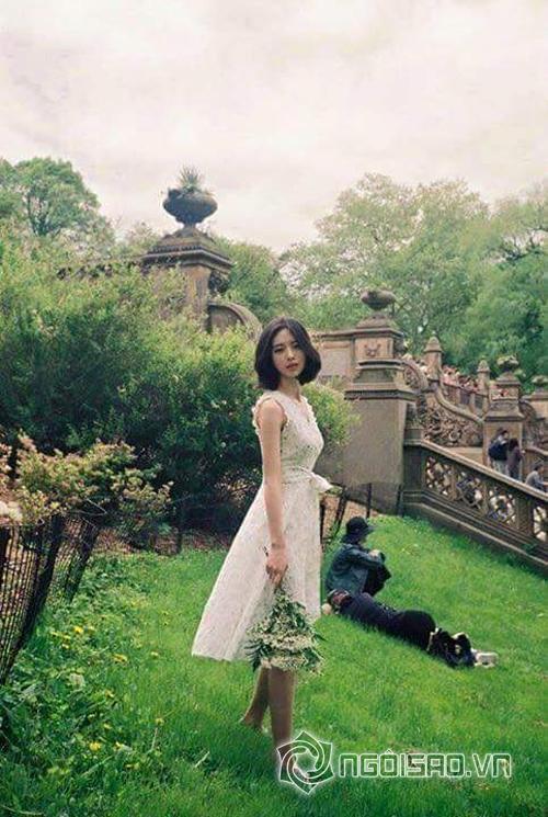 người mẫu Hàn,Yoon Sun Young,nhan sắc giống Đặng Thu Thảo của người mẫu Hàn,người mẫu Hàn giống hệt Đặng Thu Thảo,vẻ đẹp cuốn hút của người mẫu Hàn,vẻ đẹp trong sáng của người mẫu Hàn,sao Hàn