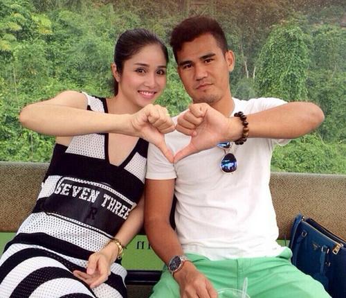 cầu thủ và mỹ nhân Việt 17