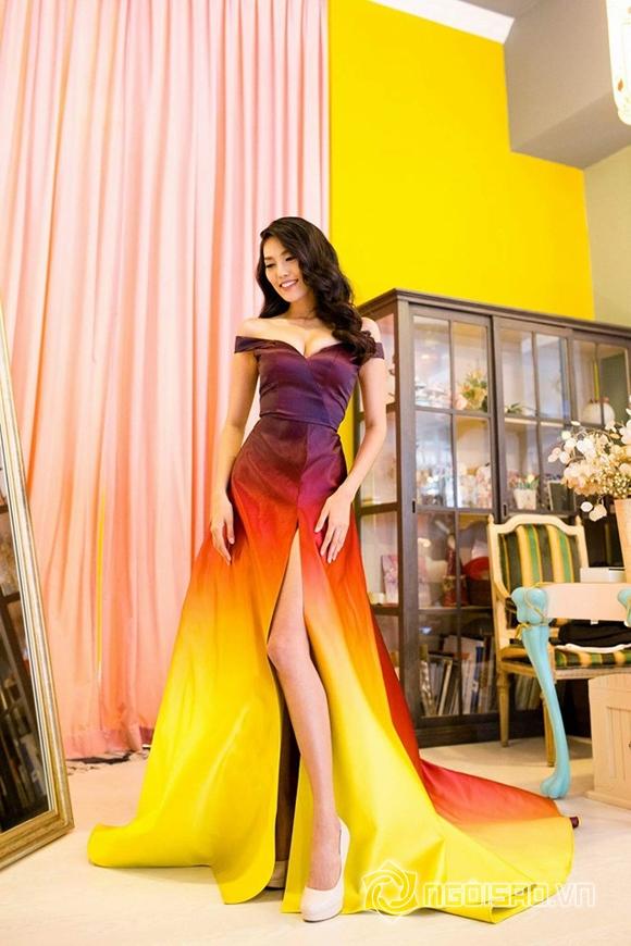 Váy dạ hội của Lan Khuê lọt top 10 trang phục đẹp nhất 13