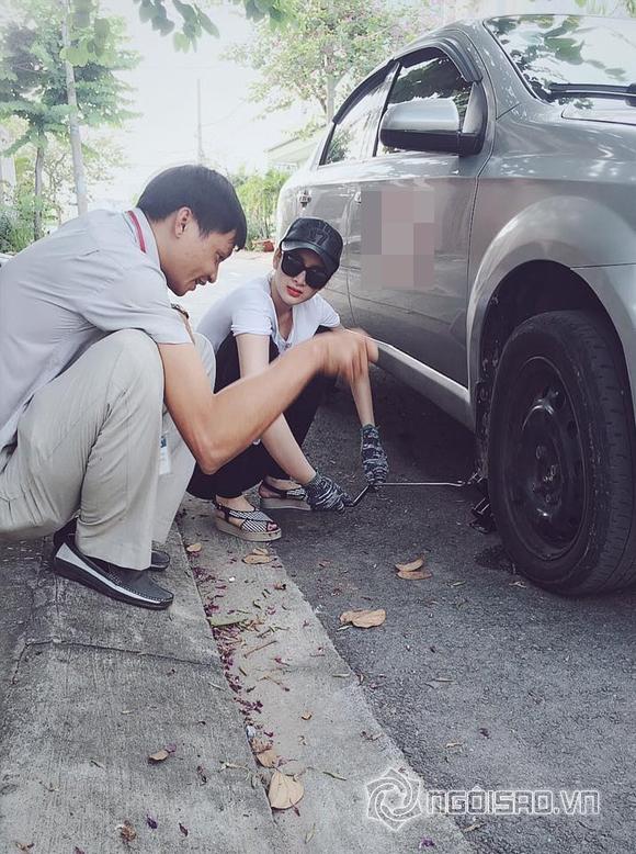 Angela Phương Trinh gây bất ngờ khi học sửa xe ô tô 2