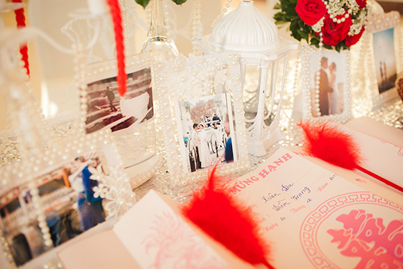 Đám cưới ngập tràn không khí Giáng sinh của Á hậu Diễm Trang 13