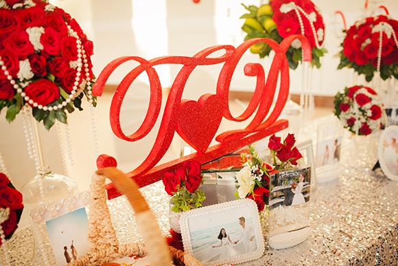 Đám cưới ngập tràn không khí Giáng sinh của Á hậu Diễm Trang 14