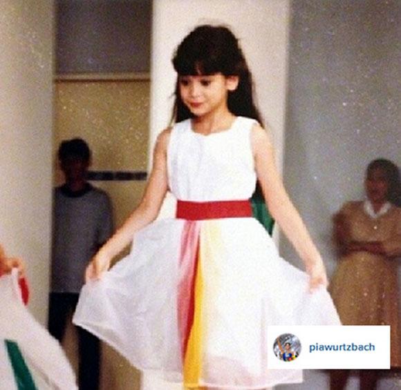 tân hoa hậu hoàn vũ,Pia Alonzo Wurtzbach,tân hoa hậu hoàn vũ lần đầu xuất hiện