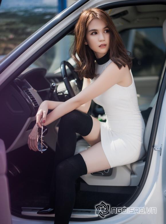 Ngoc Trinh winter streetwear 5