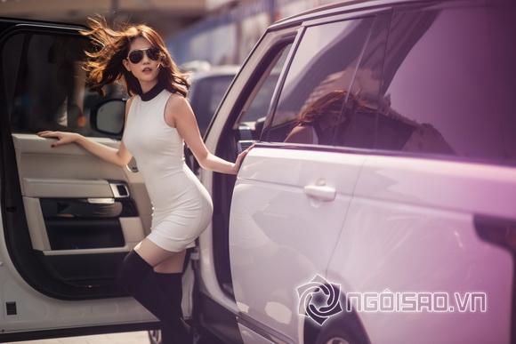 Ngoc Trinh winter streetwear 4