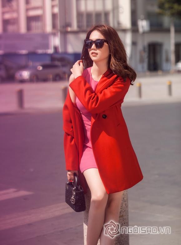 Ngoc Trinh winter streetwear 3