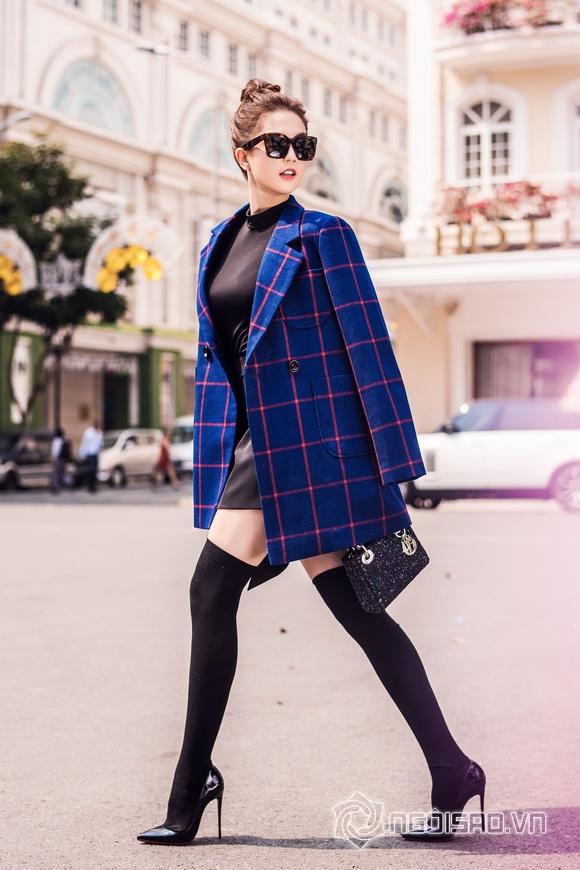 Ngoc Trinh winter streetwear 7