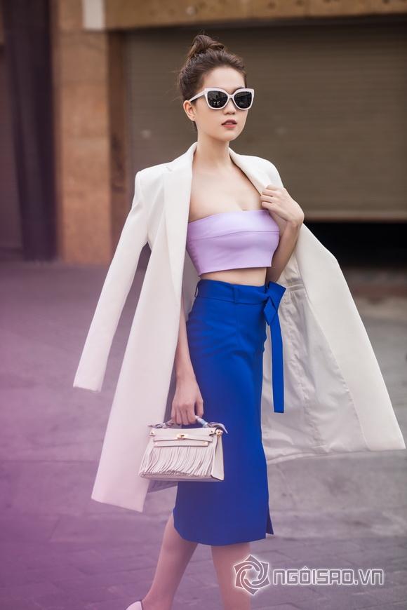 Ngoc Trinh streetwear winter day 2