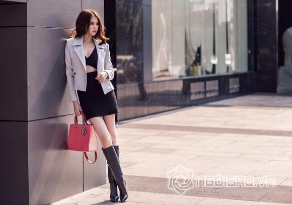 Ngoc Trinh winter streetwear 0